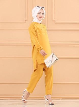 Mustard - Unlined - Suit