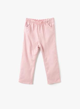 Pink - Baby Pants - Koton