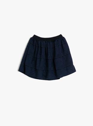 Navy Blue - Baby Skirt