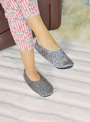 Leopard - Casual - Leopard - Home Shoes