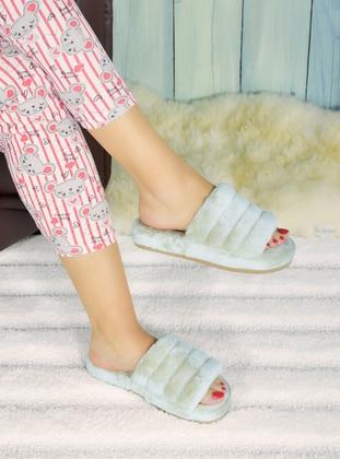 Sandal - Beige - Home Shoes