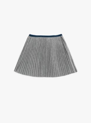 Pale Grey - Baby Skirt