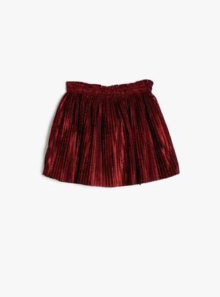 Red - Baby Skirt