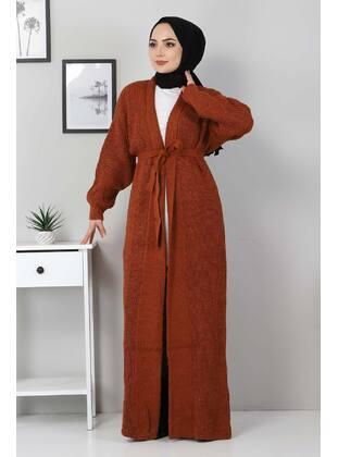 Unlined - Tan - Knit Cardigans