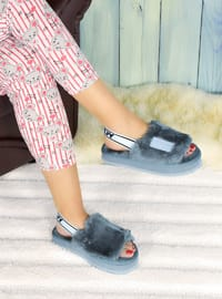 Casual - Gray - Home Shoes