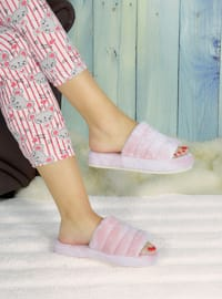 Sandal - Pink - Home Shoes
