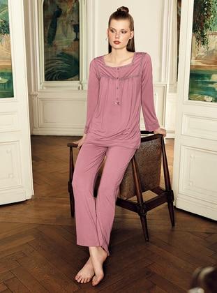 Dusty Rose - Plus Size Pyjamas