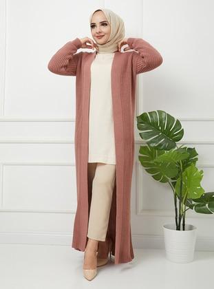 - Acrylic - Triko - Wool Blend - Cardigan