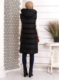 Black - Fully Lined - Vest