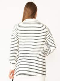 Bone - Cotton - - Plus Size Sweatshirts
