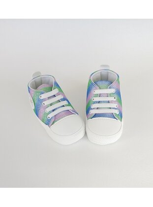 Blue - Sport - Baby Shoes - MİNİPUFF BABY