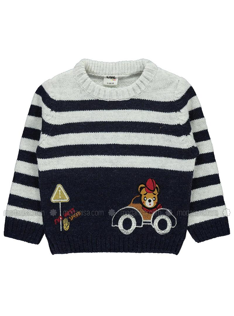 Navy Blue - Baby Jumpers