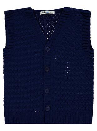 Navy Blue - Boys` Vest