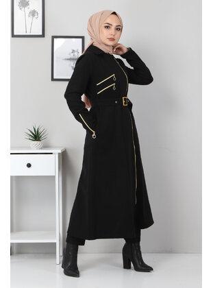 Unlined - Black - Coat - MISSVALLE