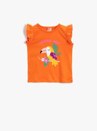 Orange - Baby Underwear