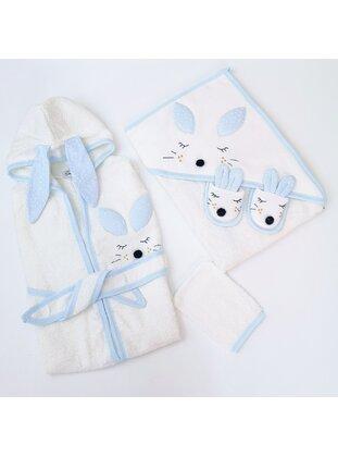 Blue - Child Towel & Bathrobe