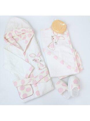 Pink - Child Towel & Bathrobe