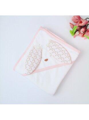 Salmon - Cotton - Child Towel & Bathrobe