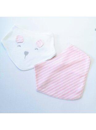 Pink - Printed - Baby Bibs