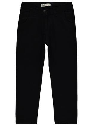 Black - Girls` Pants - Civil