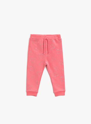 Pink - Baby Sweatpants - Koton