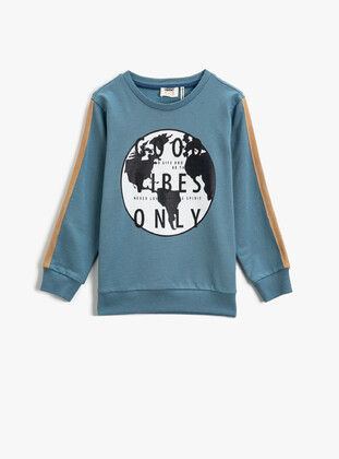 Baby Blue - Boys` Sweatshirt