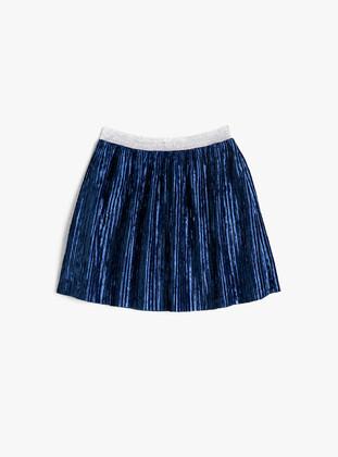 Navy Blue - Girls` Skirt - Koton