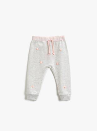 White - Baby Sweatpants - Koton