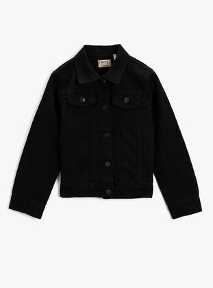 Black - Girls` Coat
