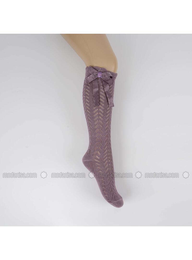 Purple - Girls` Socks