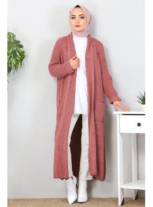 Dusty Rose - Knit Cardigans