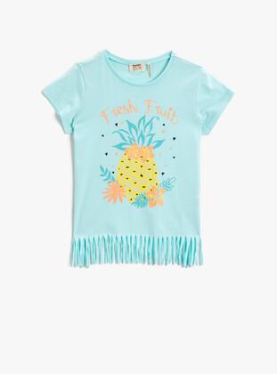 Sea-green - Girls` T-Shirt