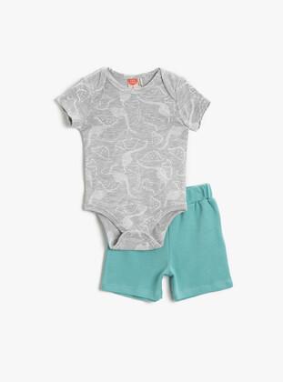 Red - baby bodysuits - Koton