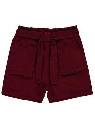 Maroon - Girls` Skirt - Civil