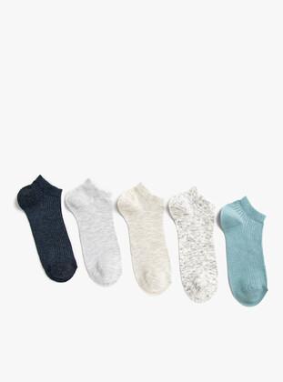 Navy Blue - Socks - Koton