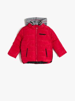 Red - Baby Jacket - Koton