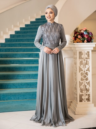 - Fully Lined - Modest Evening Dress