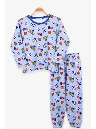 Light Blue - Boys` Pyjamas