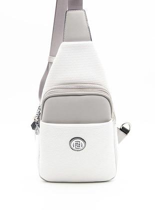- White - Crossbody - Bum Bag