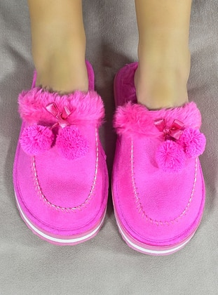 Sandal - Fuchsia - Home Shoes