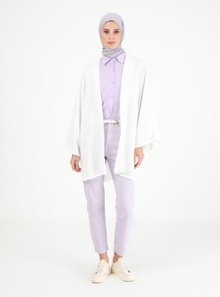 Unlined - White - Kimono