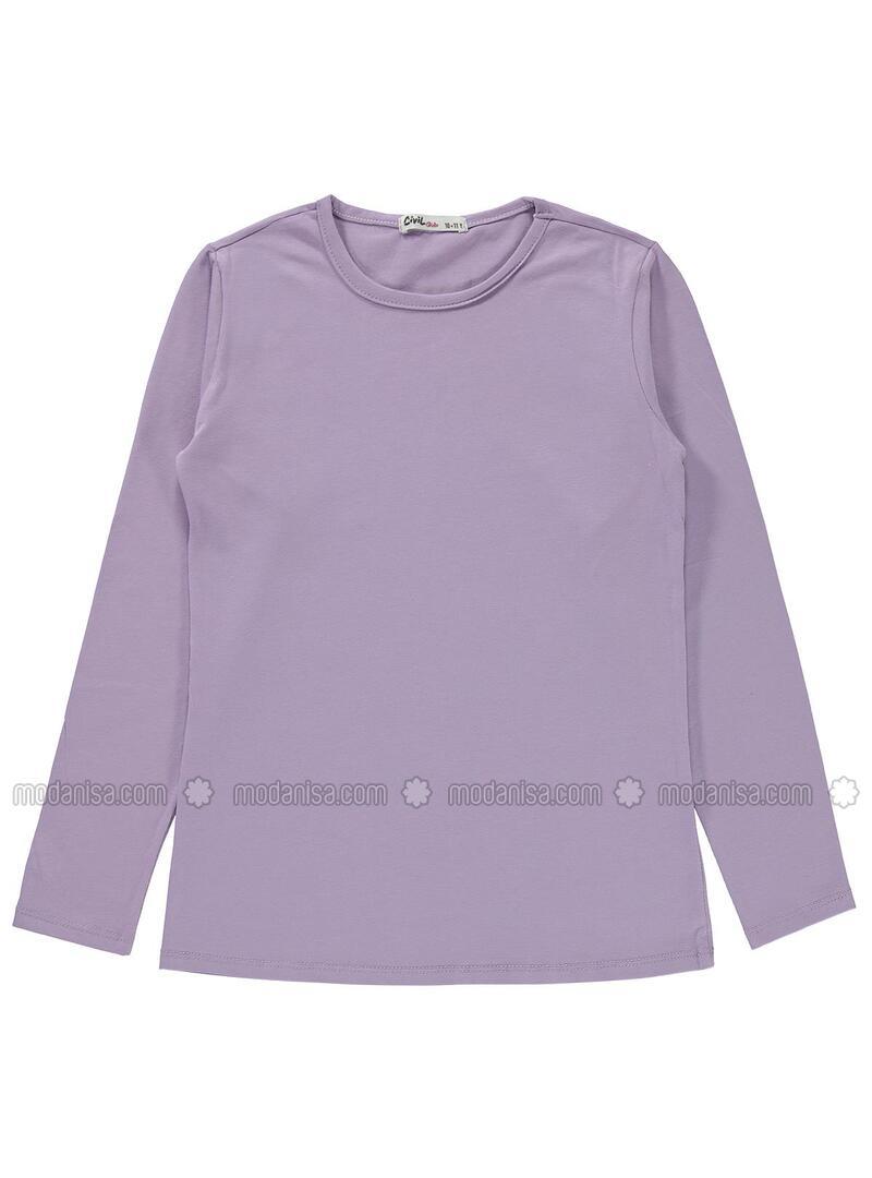 Lilac - Girls` Sweatshirt
