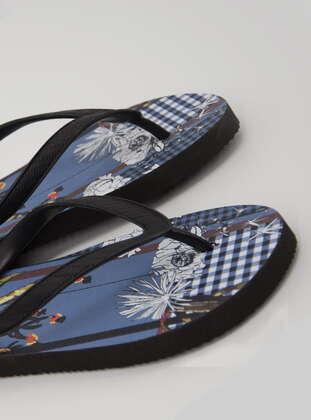 Blue - Slippers