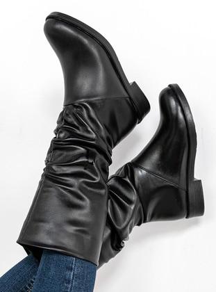 Black - Boot - Boots - Zenneshoes