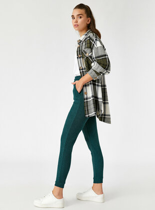 Olive Green - Activewear Bottoms
