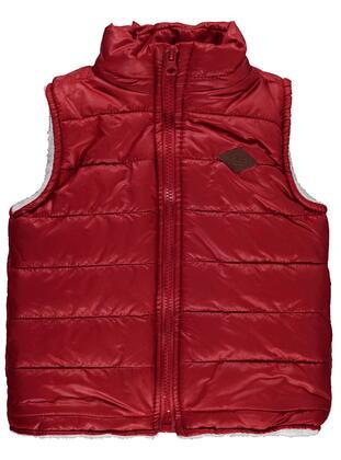 Red - Boys` Vest
