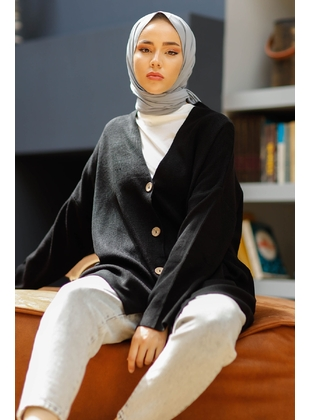 Black - Knit Cardigans