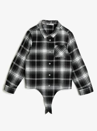Black - Girls` Shirt