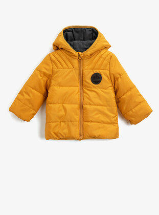 Yellow - Baby Jacket - Koton