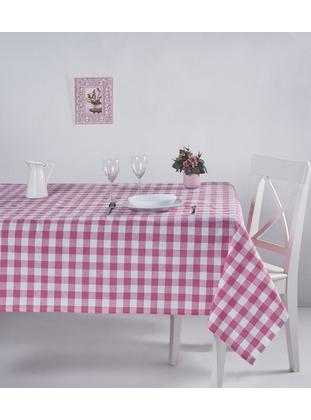 Pink - Cotton - Table Linen